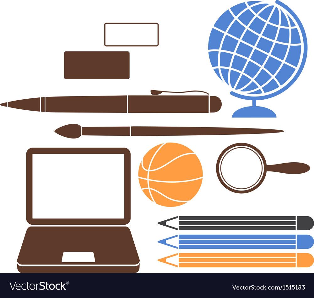 Education school vector | Price: 1 Credit (USD $1)