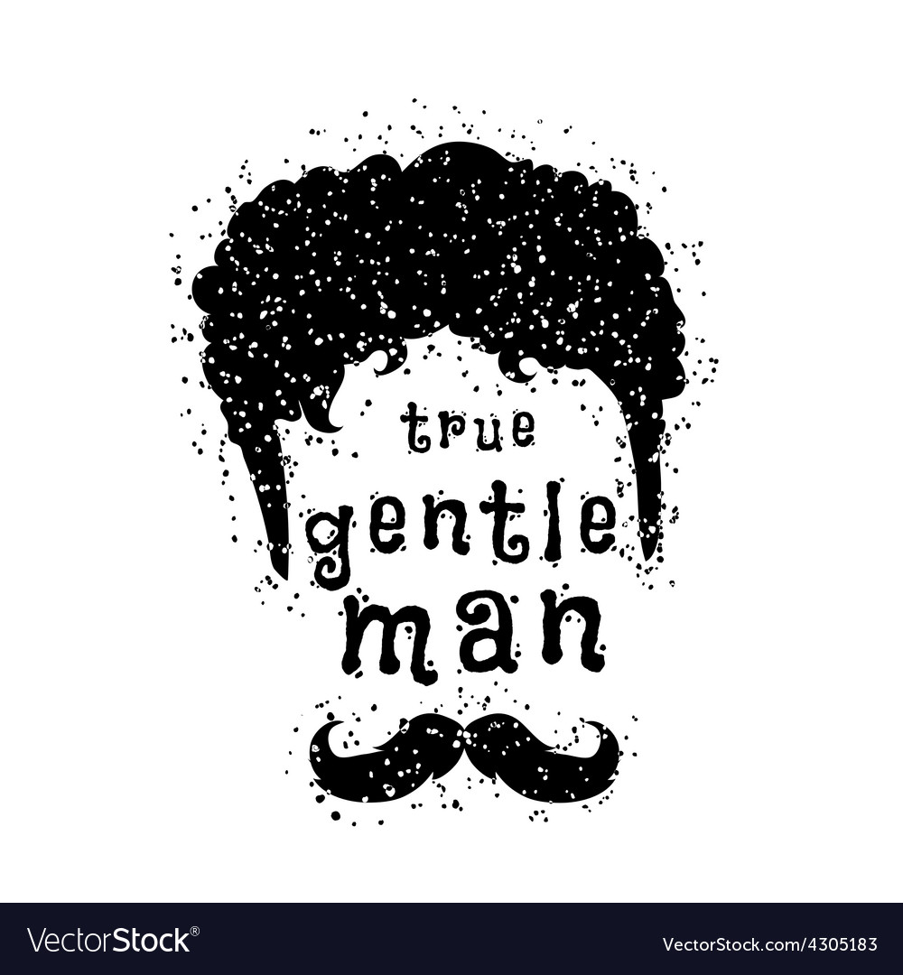 Gentleman style vector | Price: 1 Credit (USD $1)