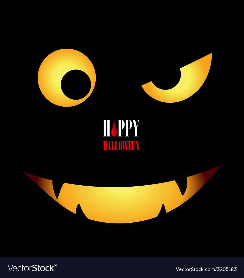 Happy halloween design background vector | Price: 1 Credit (USD $1)