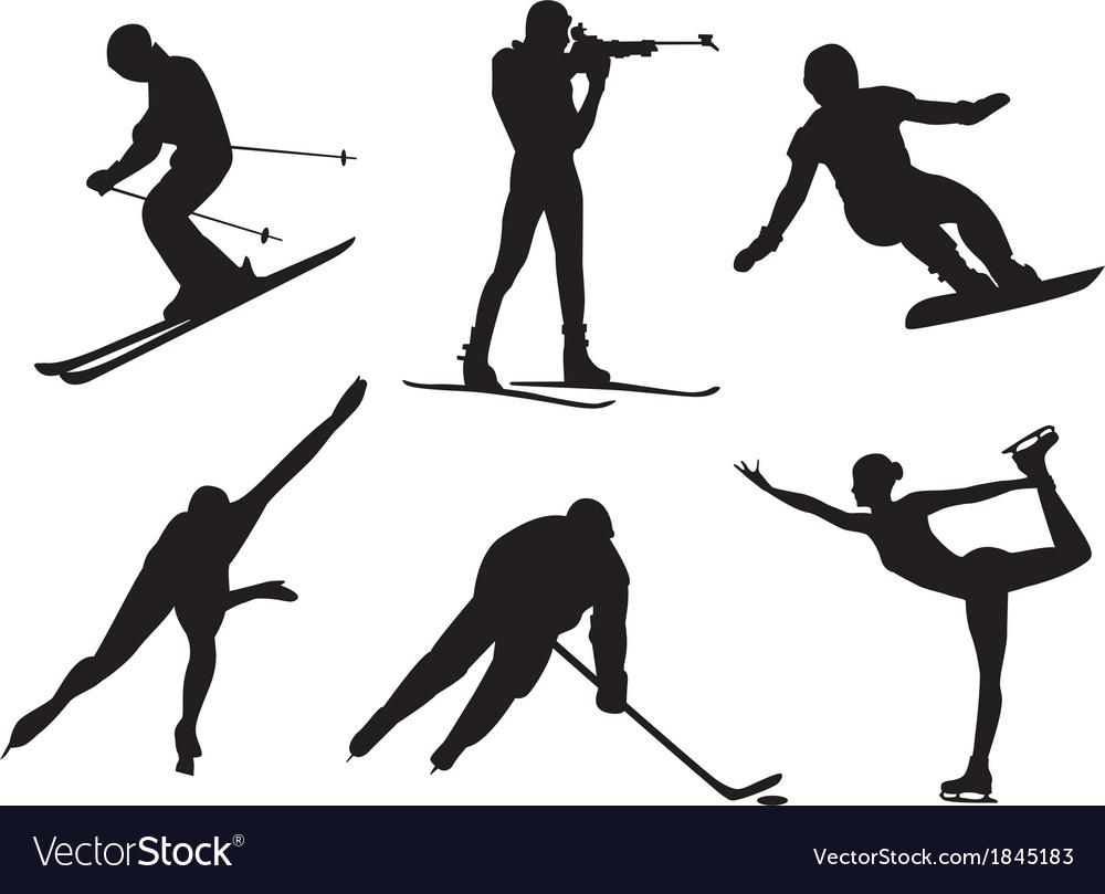 Winter sports vector | Price: 1 Credit (USD $1)