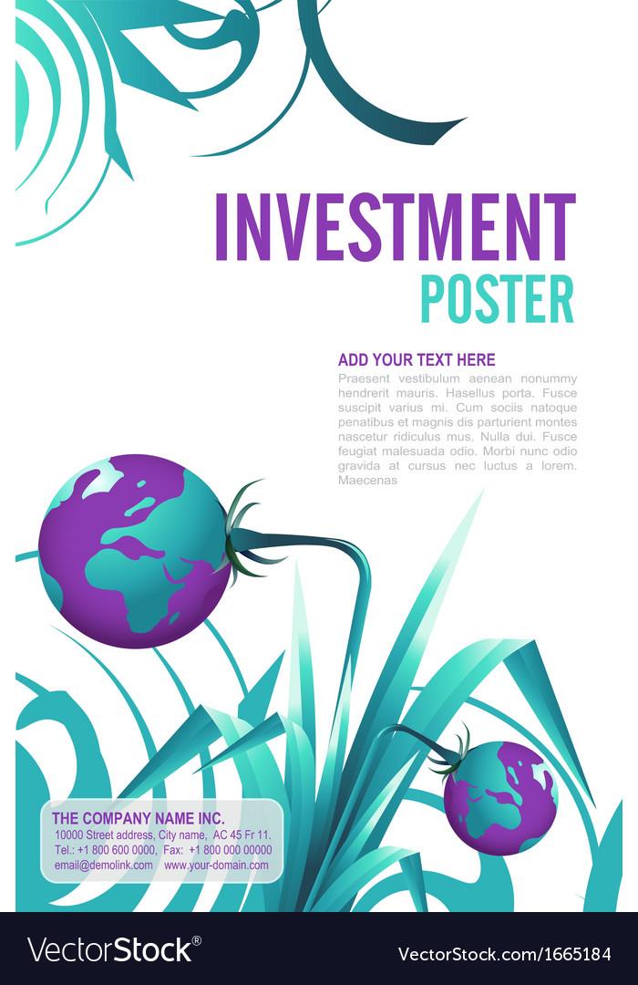 Leaflet design vector | Price: 1 Credit (USD $1)