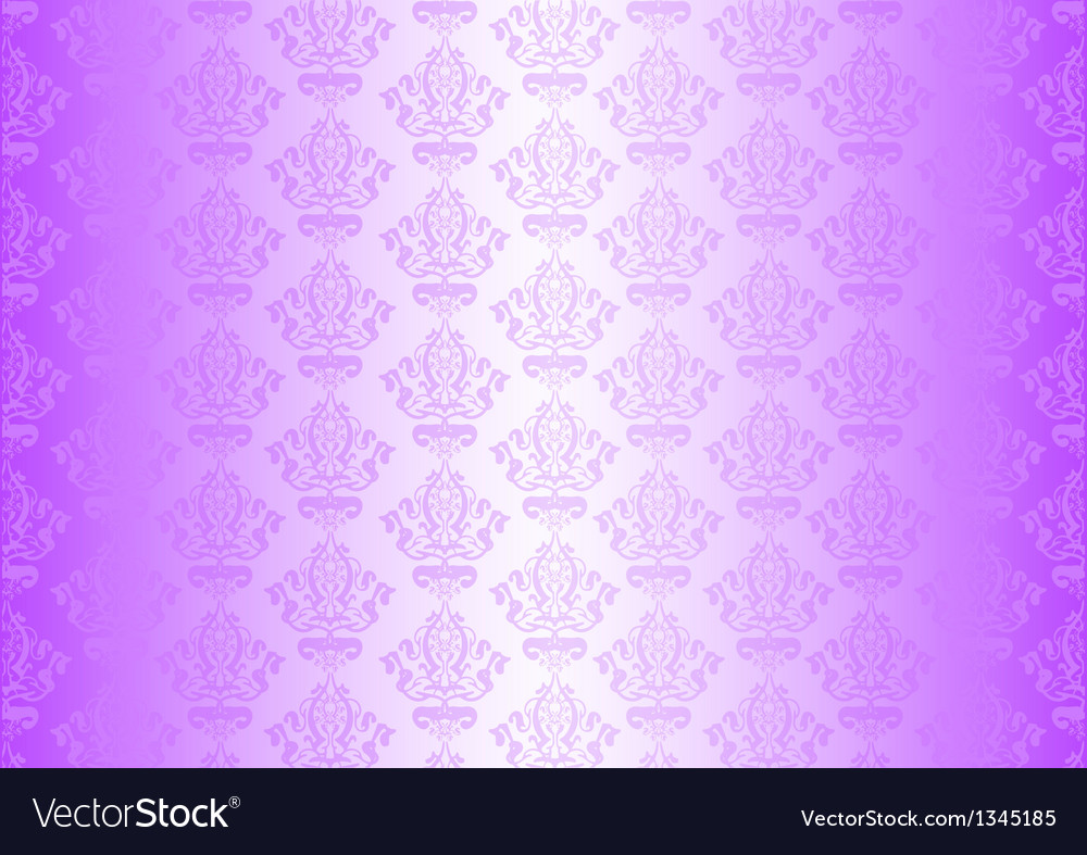 Purple wallpaper with ornaments vector | Price: 1 Credit (USD $1)