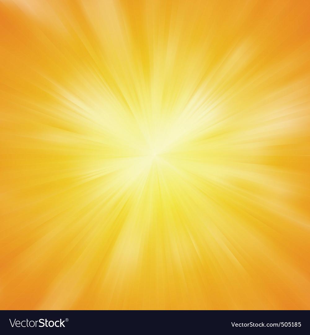 Warm sun light eps 8 vector | Price: 1 Credit (USD $1)