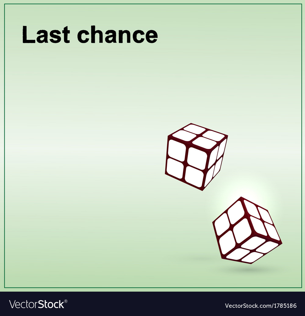 Last chance icon vector | Price: 1 Credit (USD $1)