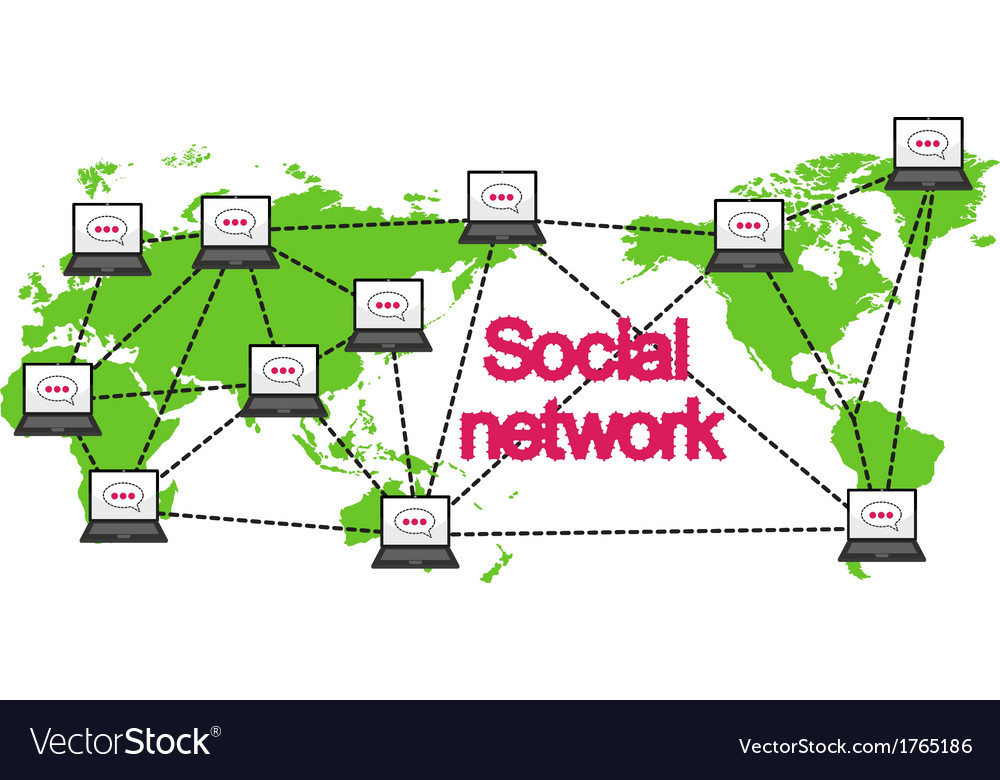 Social networking conceptual can represent vector | Price: 1 Credit (USD $1)