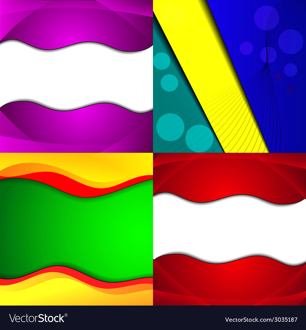 Big set of soft colored abstract background vector | Price: 1 Credit (USD $1)