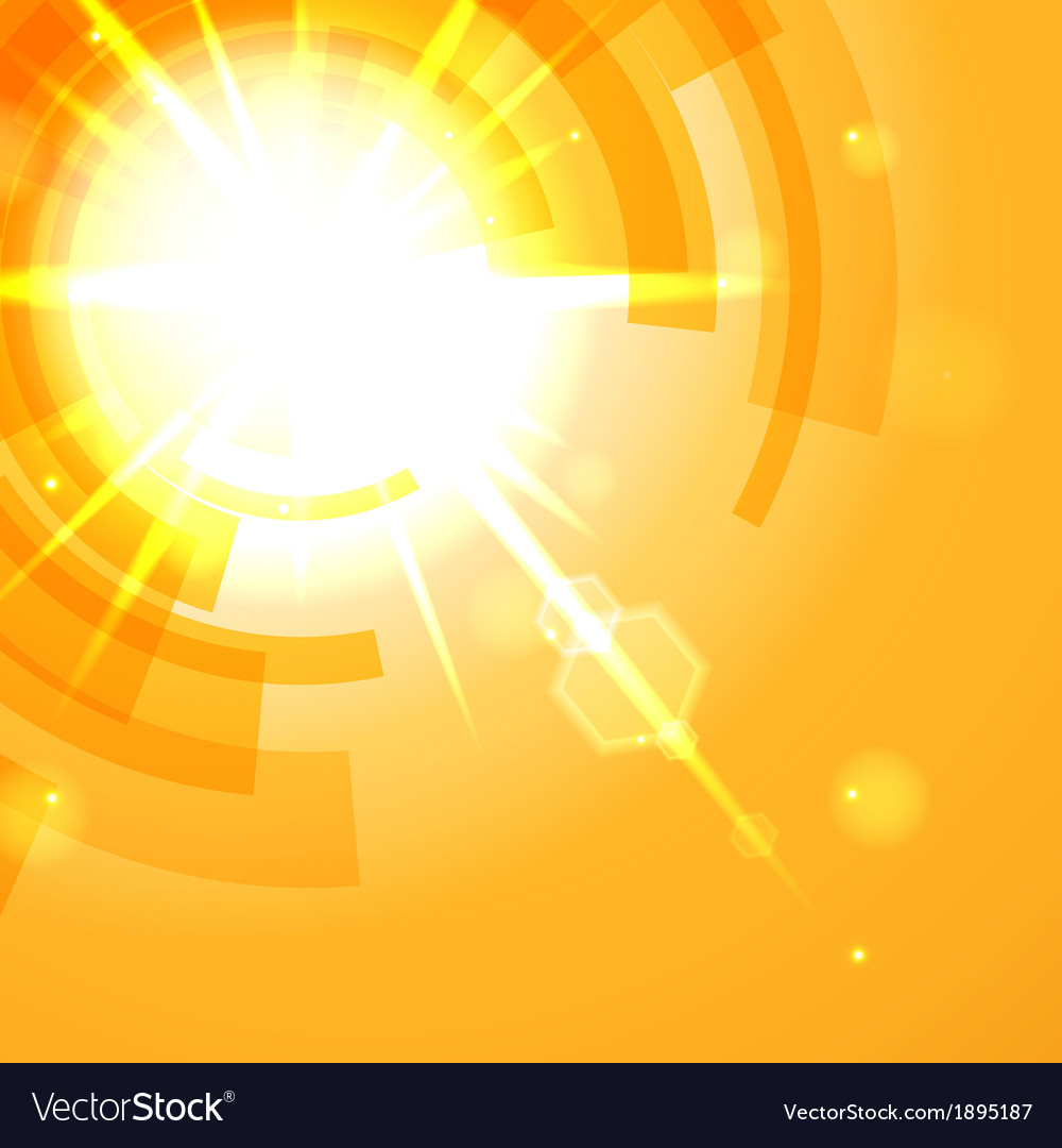 Bright yellow abstract background vector | Price: 1 Credit (USD $1)