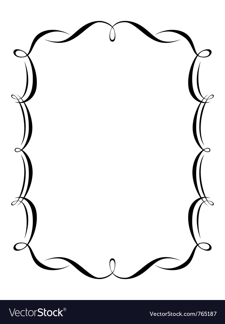 Calligraphy ornamental vector | Price: 1 Credit (USD $1)