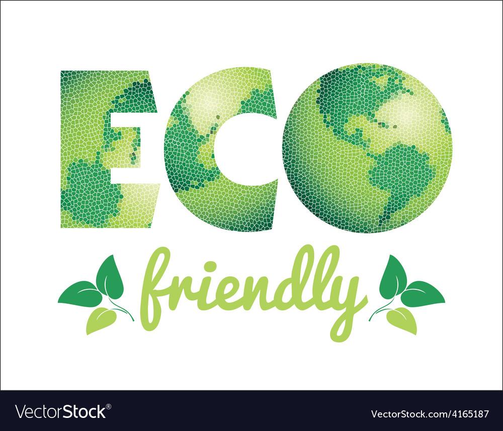 Eco friendly concept vector | Price: 1 Credit (USD $1)