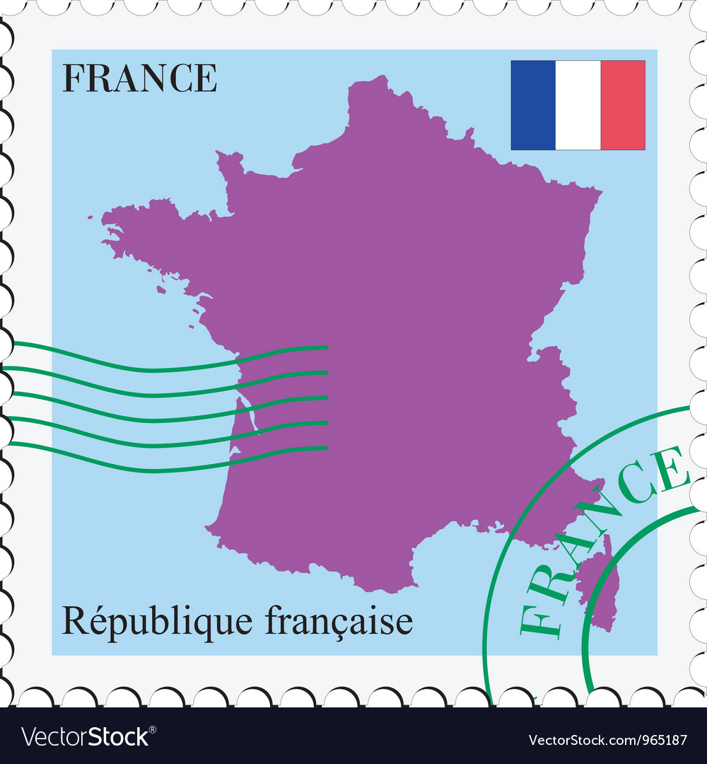 Mail to-from france vector | Price: 1 Credit (USD $1)