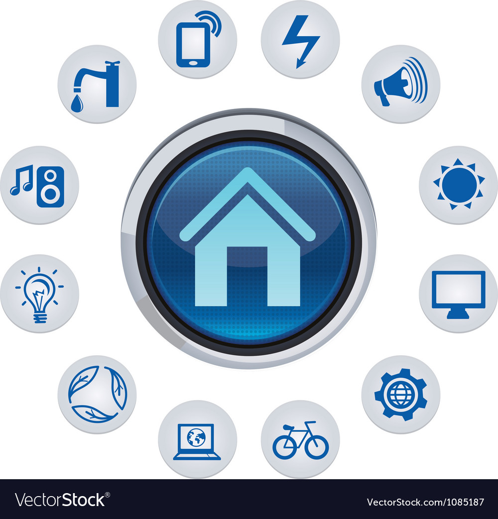 Smart house concept vector | Price: 1 Credit (USD $1)