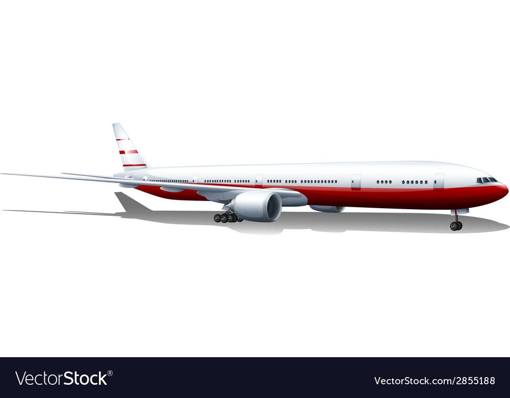 An aircraft vector   Price: 1 Credit (USD $1)
