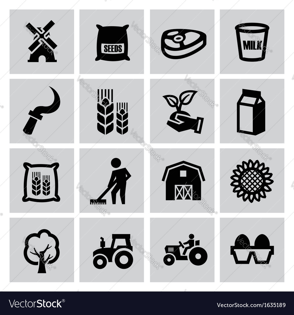 Agriculture and farming vector | Price: 1 Credit (USD $1)