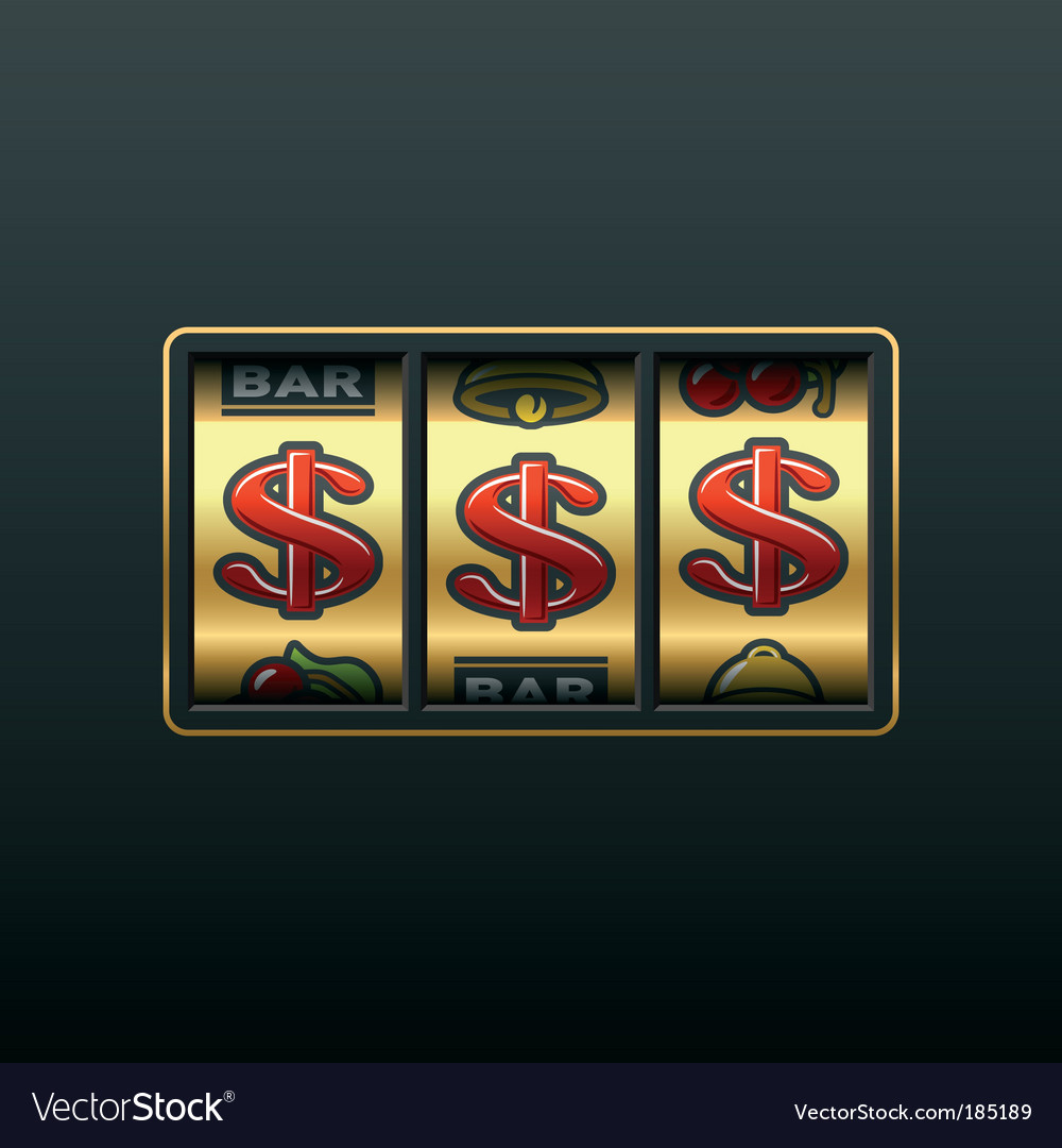 Dollar jackpot vector | Price: 1 Credit (USD $1)