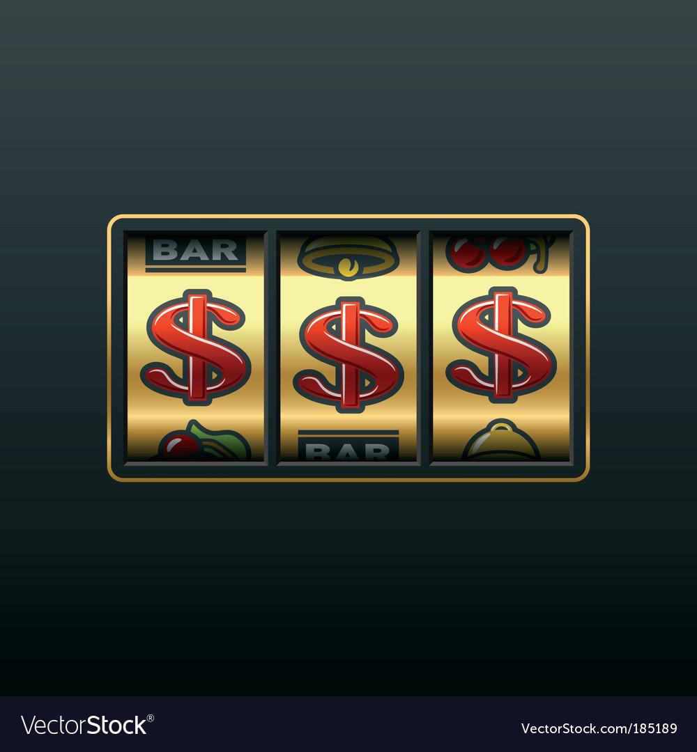 Dollar jackpot vector | Price: 1 Credit (USD $1)