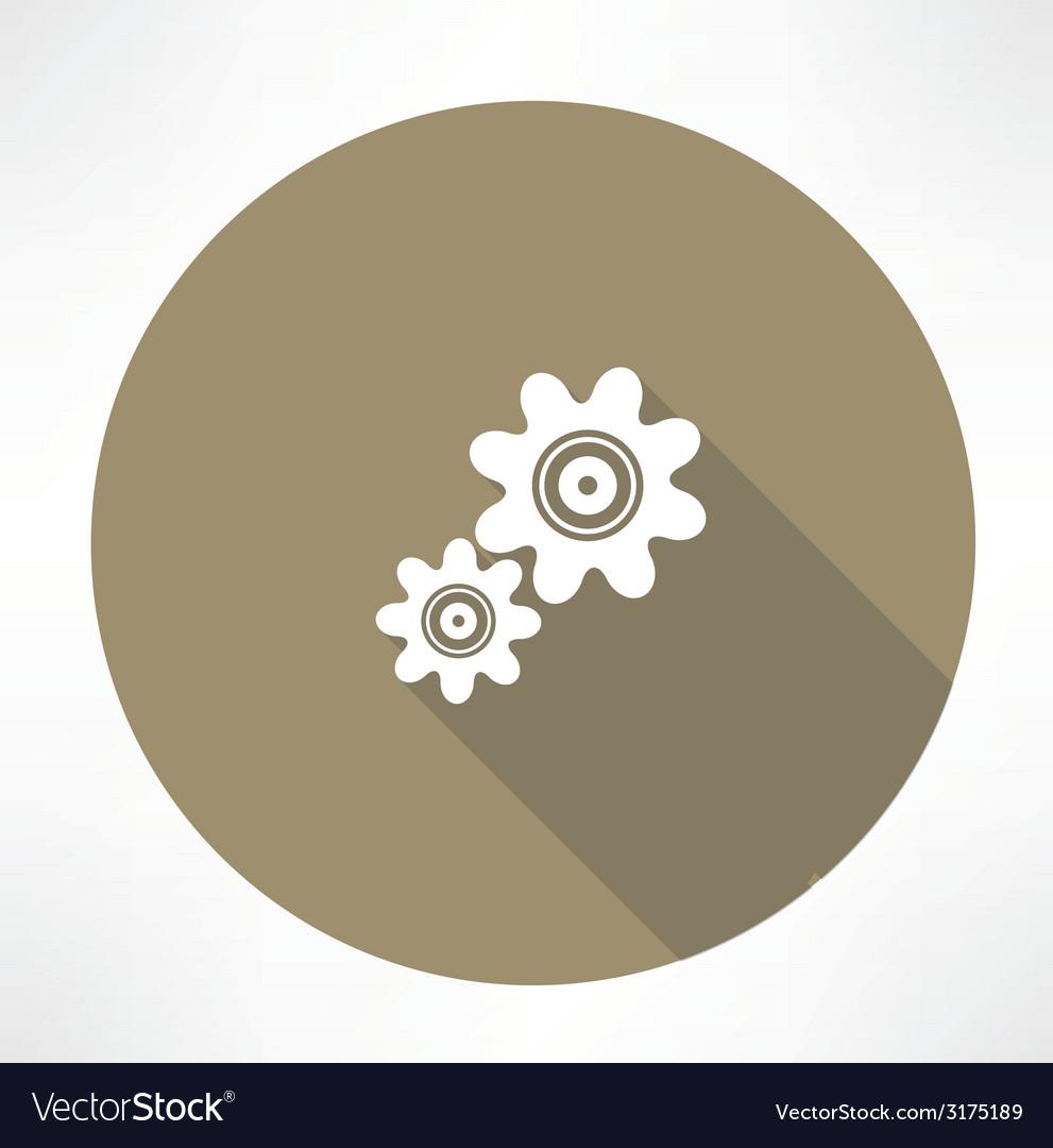 Gear icon vector | Price: 1 Credit (USD $1)