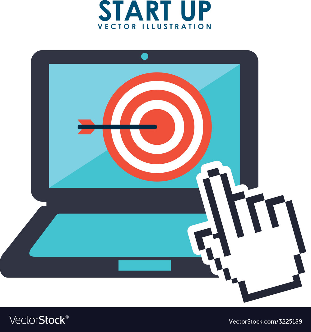 Start up design vector | Price: 1 Credit (USD $1)