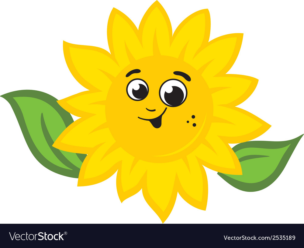 Sunflower logo vector | Price: 1 Credit (USD $1)