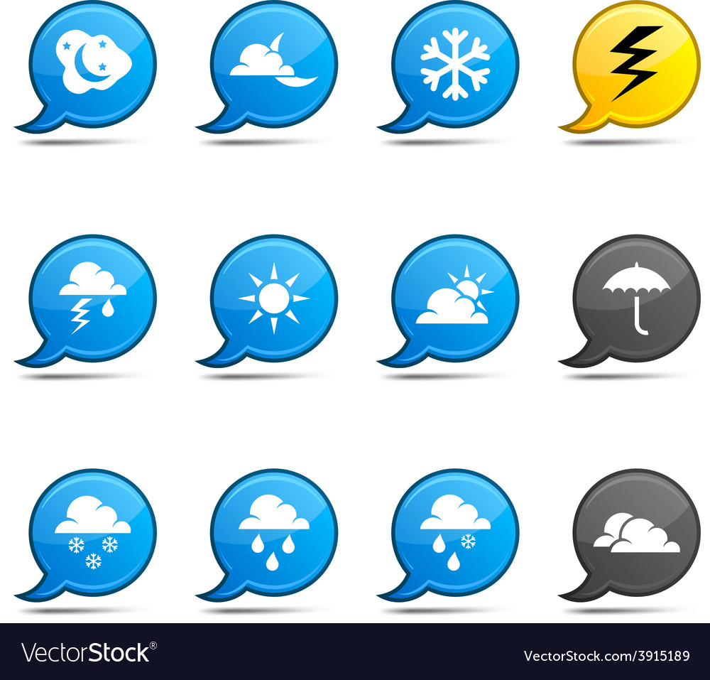 Weather comics vector | Price: 1 Credit (USD $1)