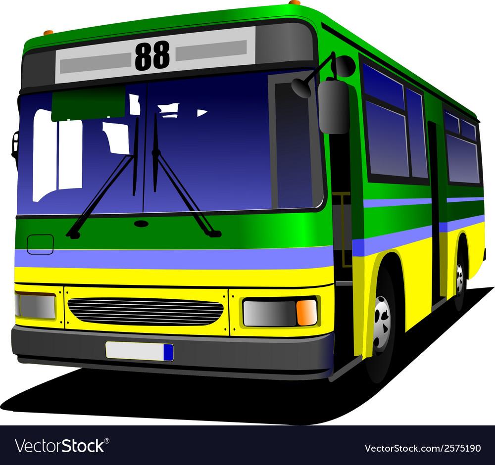 Al 0613 bus 05 vector | Price: 1 Credit (USD $1)