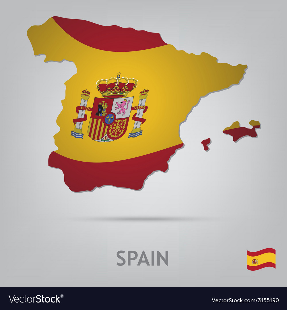 Country spain vector | Price: 1 Credit (USD $1)