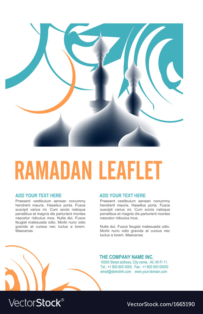 Leaflet design vector   Price: 1 Credit (USD $1)