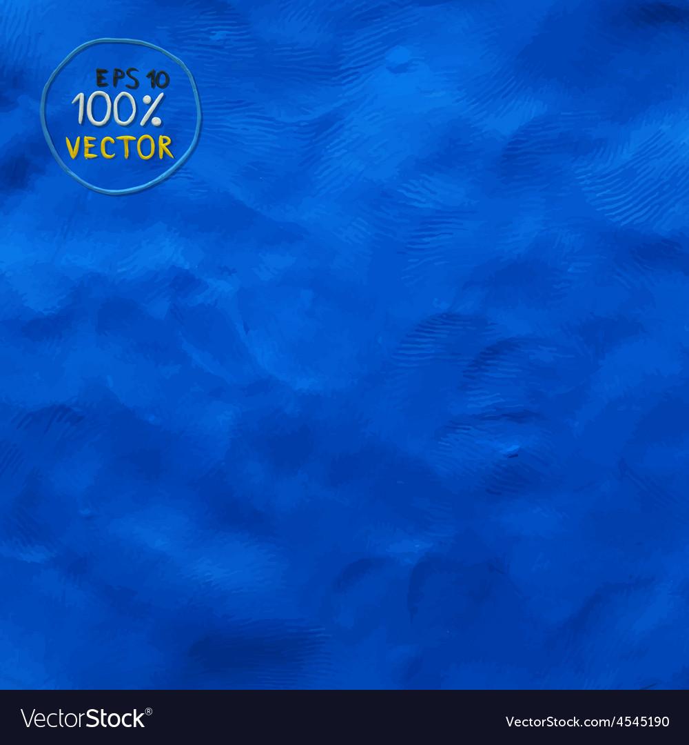 Plasticine finger textured blue color background vector   Price: 1 Credit (USD $1)