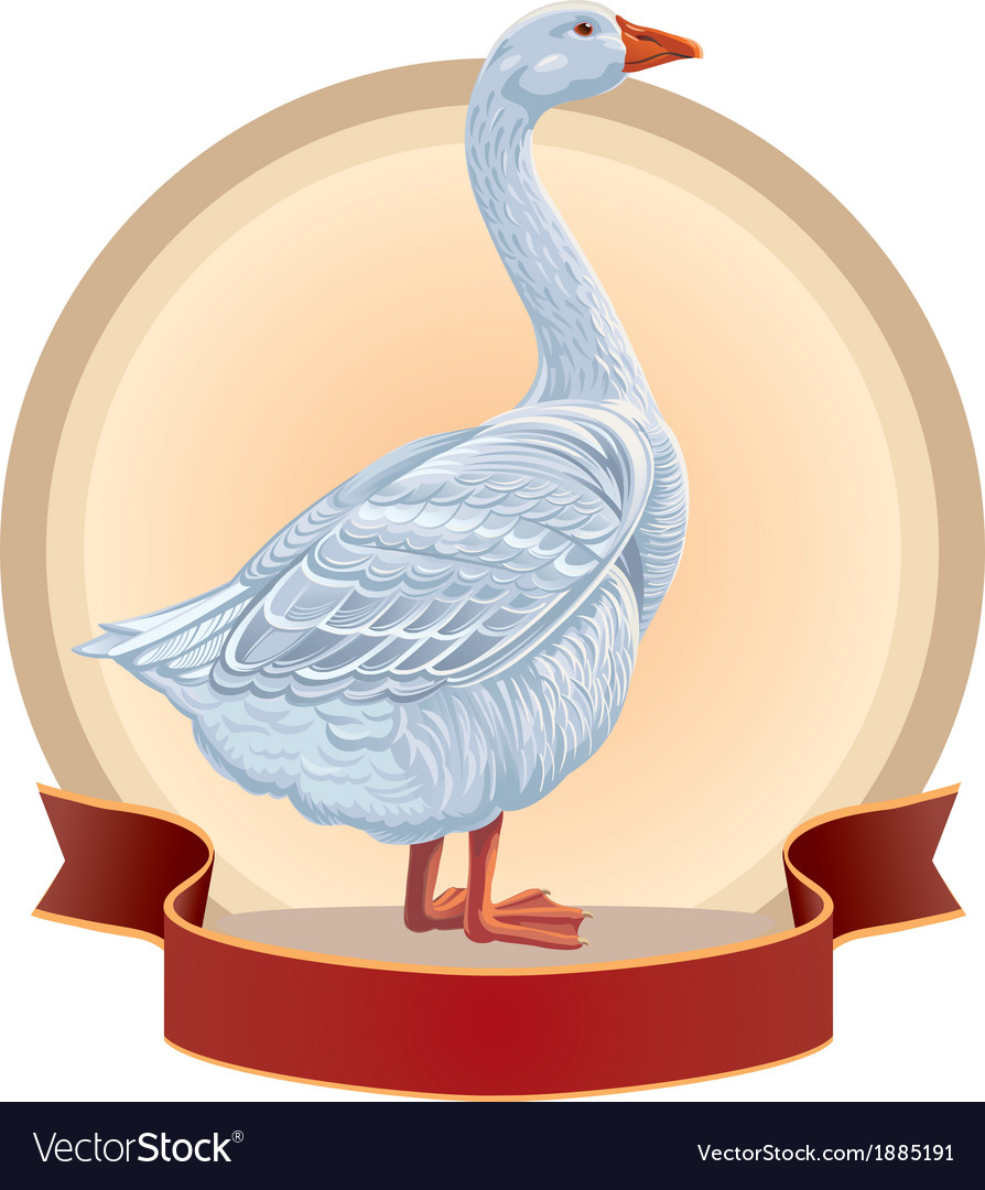 Graphical goose vector | Price: 3 Credit (USD $3)