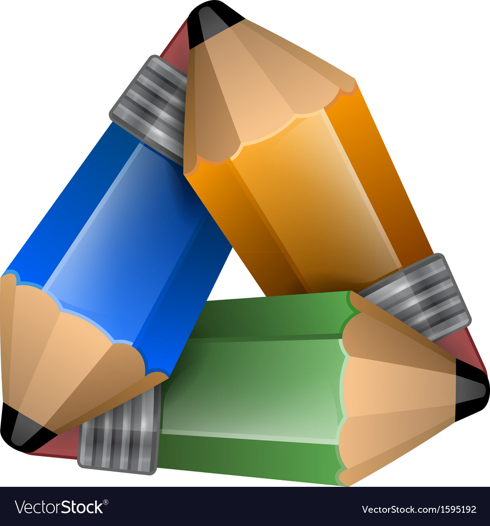Abstract element consisting of a triangular shape vector | Price: 1 Credit (USD $1)
