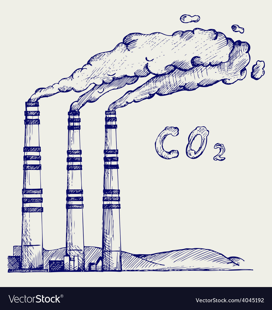 Co2 cloud vector | Price: 1 Credit (USD $1)