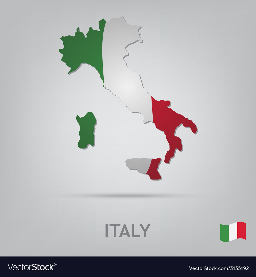 Country italy vector | Price: 1 Credit (USD $1)