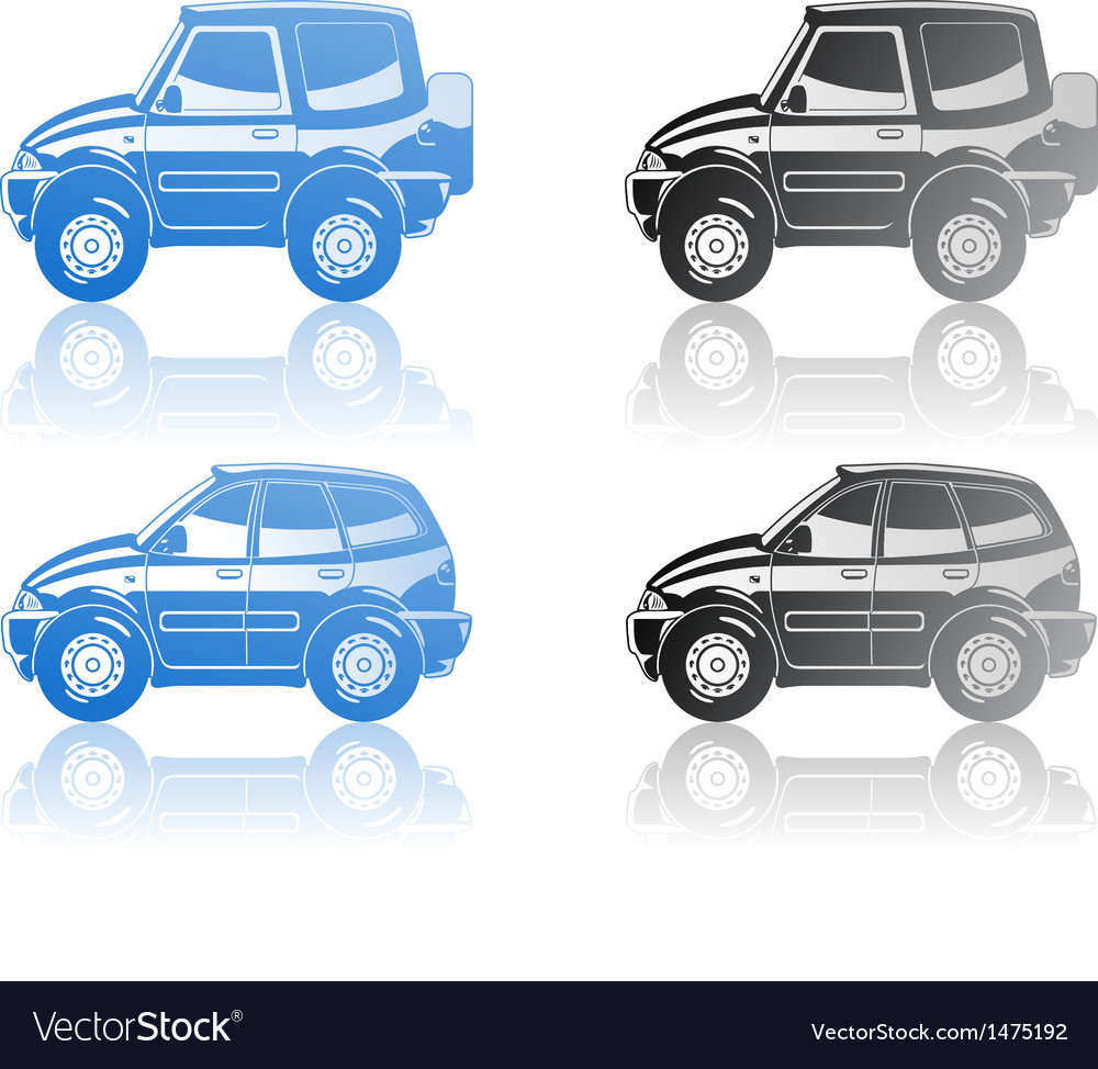 Crossover and station wagon vector | Price: 1 Credit (USD $1)