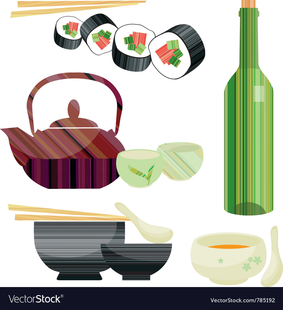 Tableware set vector | Price: 1 Credit (USD $1)