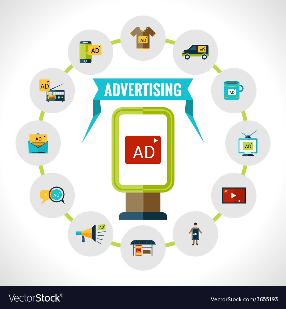 Advertising billboard concept vector | Price: 1 Credit (USD $1)