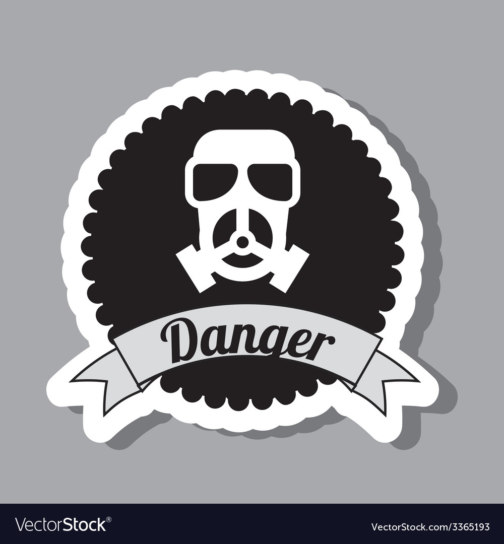 Danger design vector | Price: 1 Credit (USD $1)