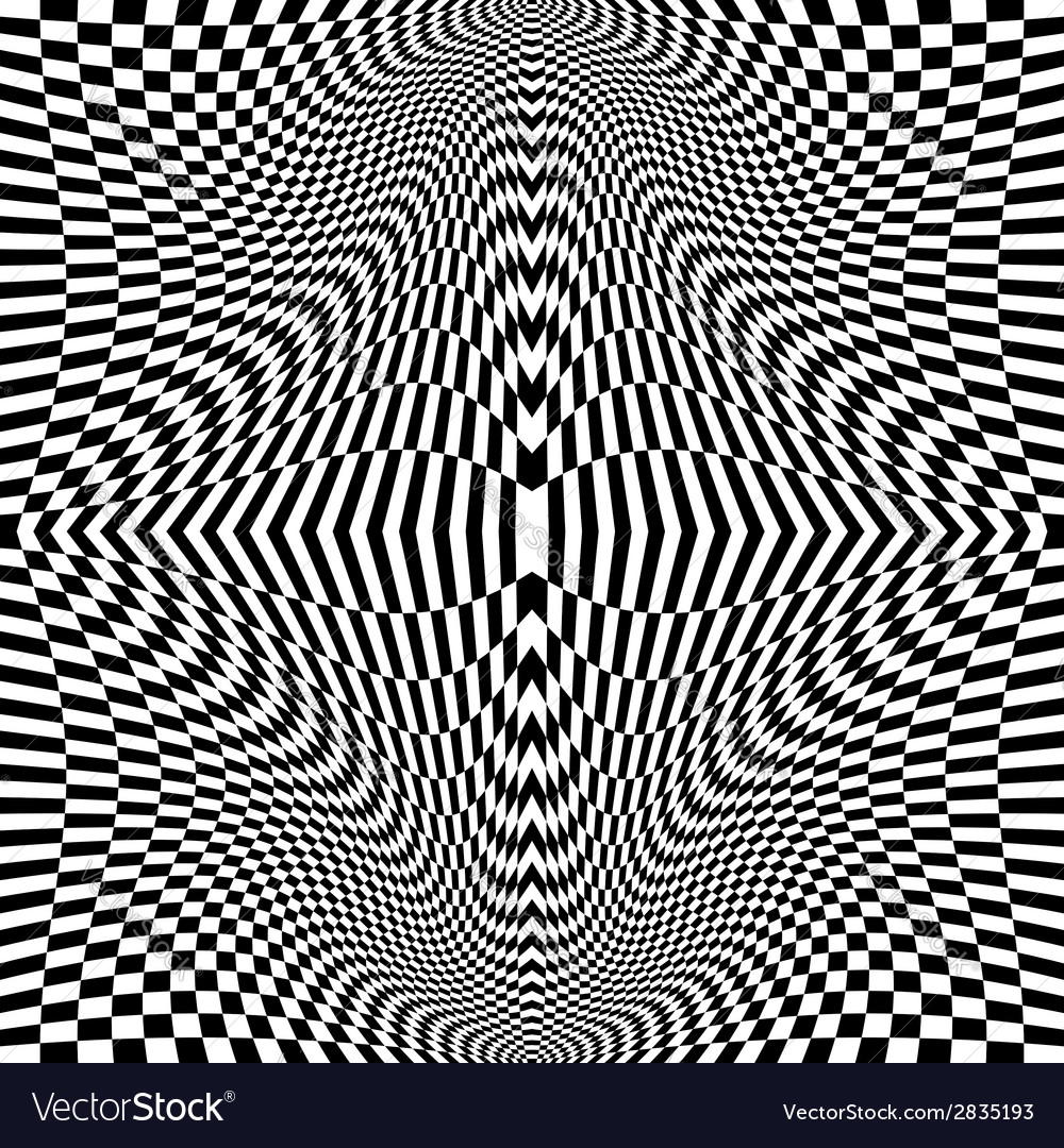 Design monochrome movement checkered background vector | Price: 1 Credit (USD $1)