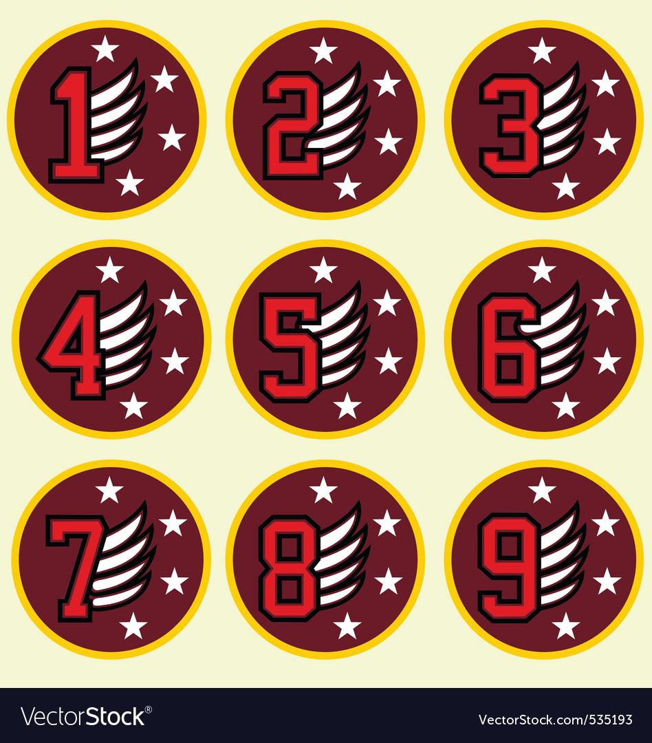 Emblem badge design vector | Price: 1 Credit (USD $1)