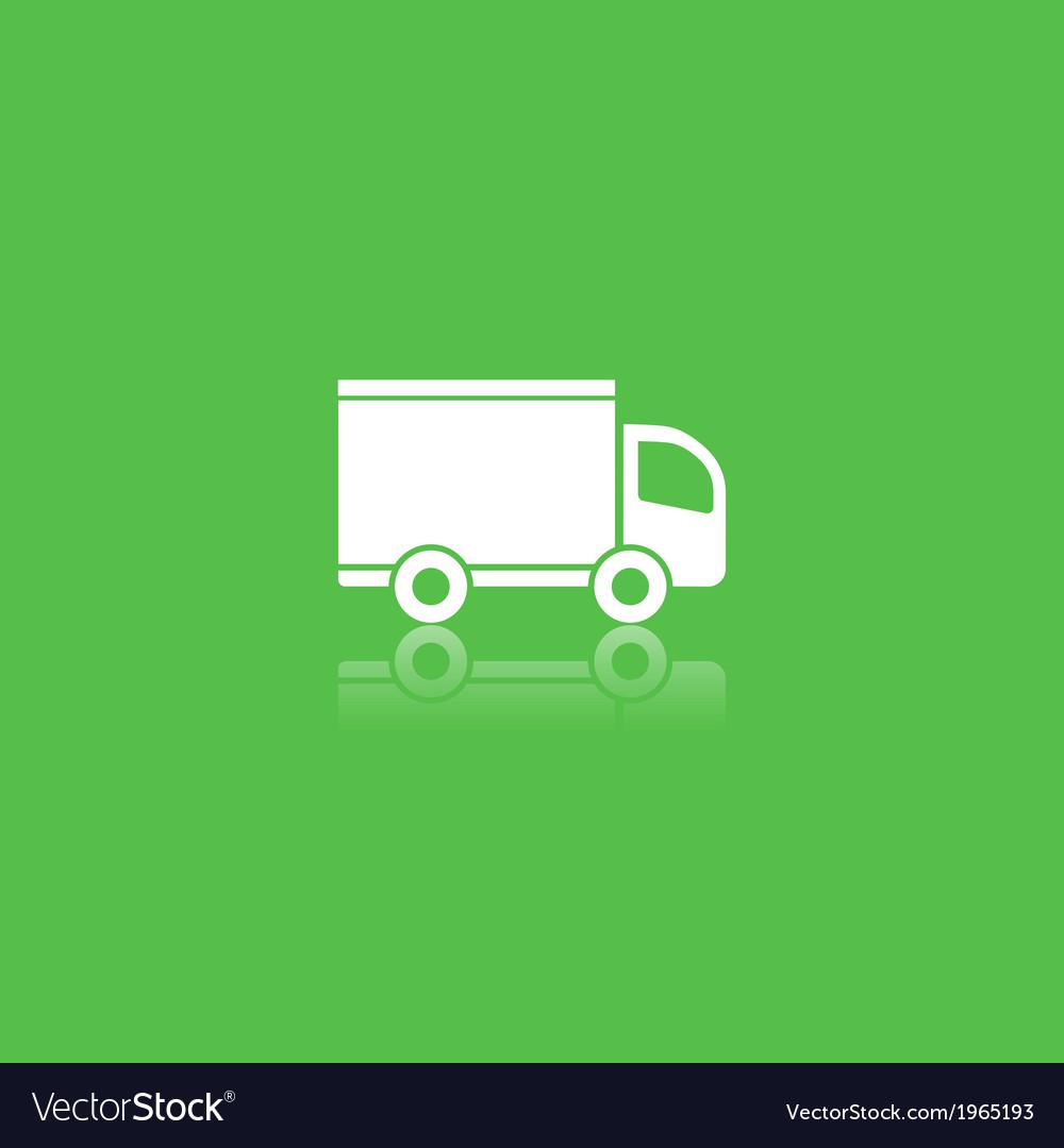 Green delivery icon vector   Price: 1 Credit (USD $1)