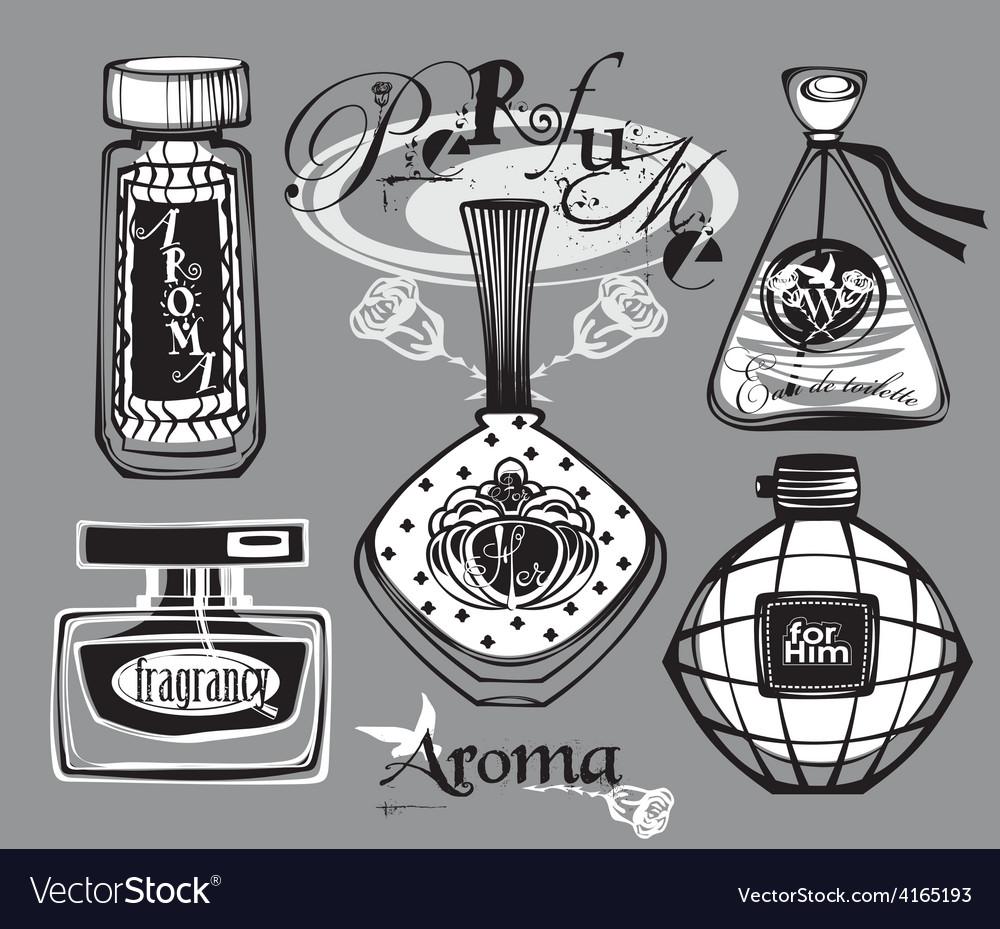 Perfume bottle vector | Price: 1 Credit (USD $1)