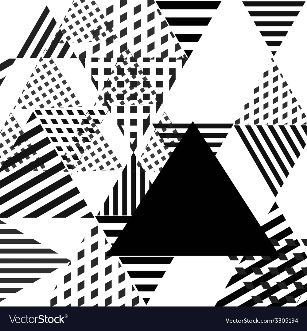 Abstract simple geometric triangle background vector | Price: 1 Credit (USD $1)