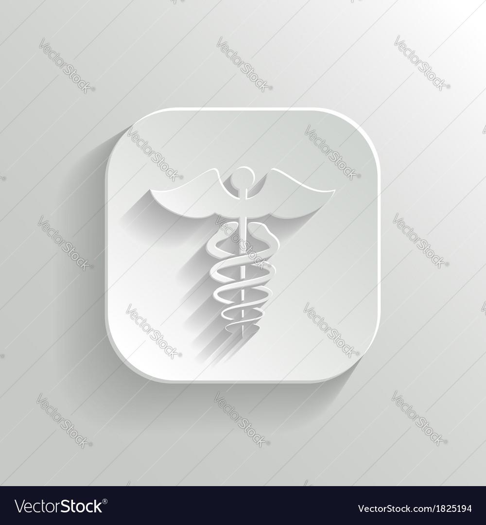 Caduceus medical symbol vector | Price: 1 Credit (USD $1)