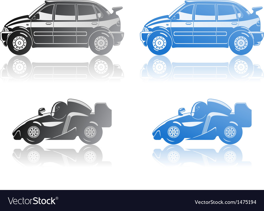 Formula 1 and limousine vector | Price: 1 Credit (USD $1)