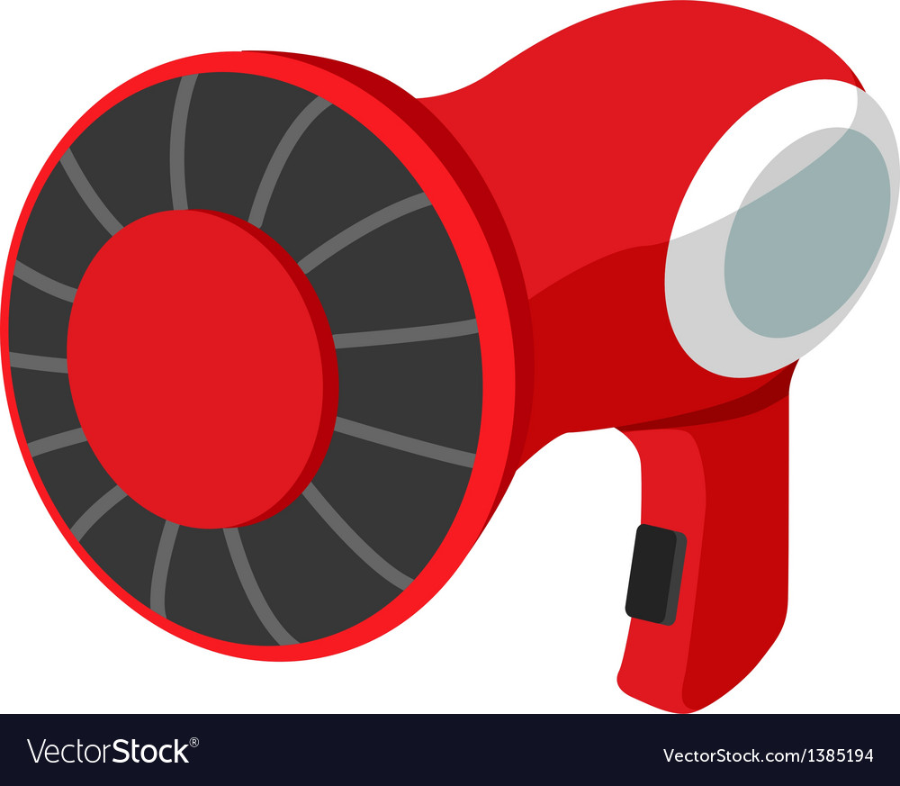 Icon hair dryer vector | Price: 1 Credit (USD $1)