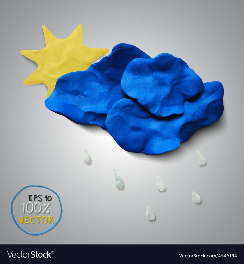 Plasticine modeling vector | Price: 1 Credit (USD $1)