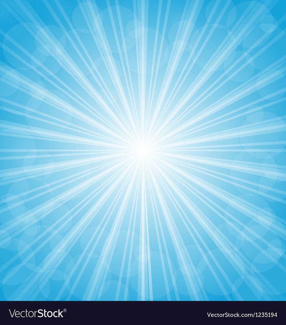 Summer background show light rays vector | Price: 1 Credit (USD $1)