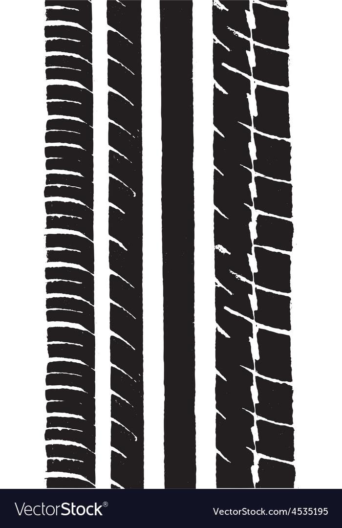 Car tyre 1 vector | Price: 1 Credit (USD $1)
