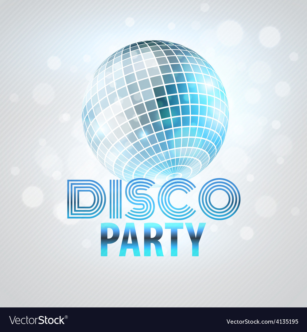 Disco party vector | Price: 1 Credit (USD $1)