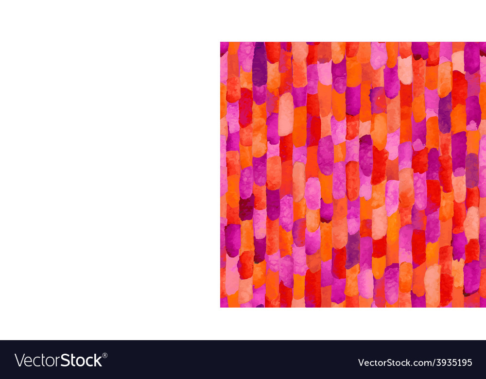 Watercolor bricks abstract seamless vector | Price: 1 Credit (USD $1)