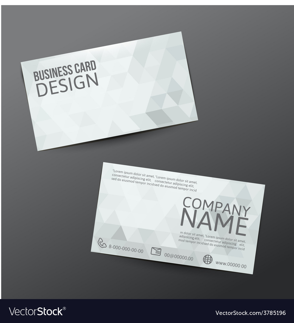 Business card vector | Price: 3 Credit (USD $3)