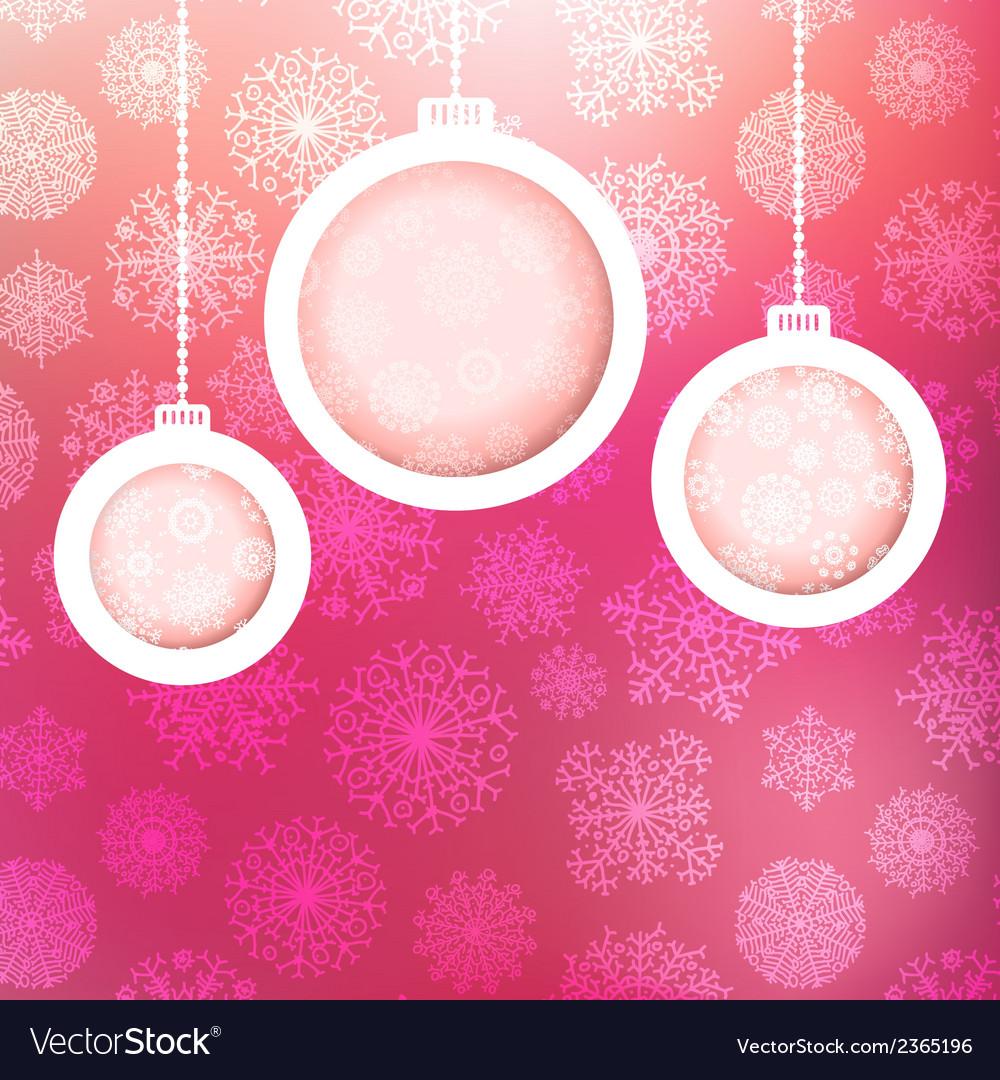 Christmas ball made of snowflakes  eps8 vector   Price: 1 Credit (USD $1)